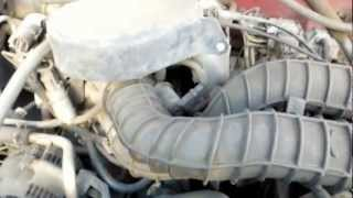 1994 Ford F150 5.8L EFI Throttle Position Sensor TPS and Idle Air Control IAC Valve Location