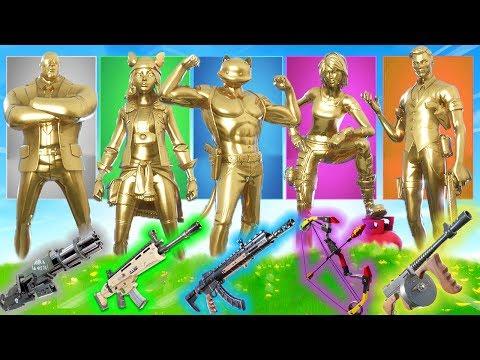 der ZUFLLIGE *GOLD* Skin in Fortnite!