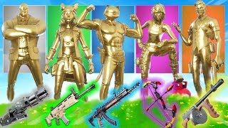 der ZUFÄLLIGE *GOLD* Skin in Fortnite!