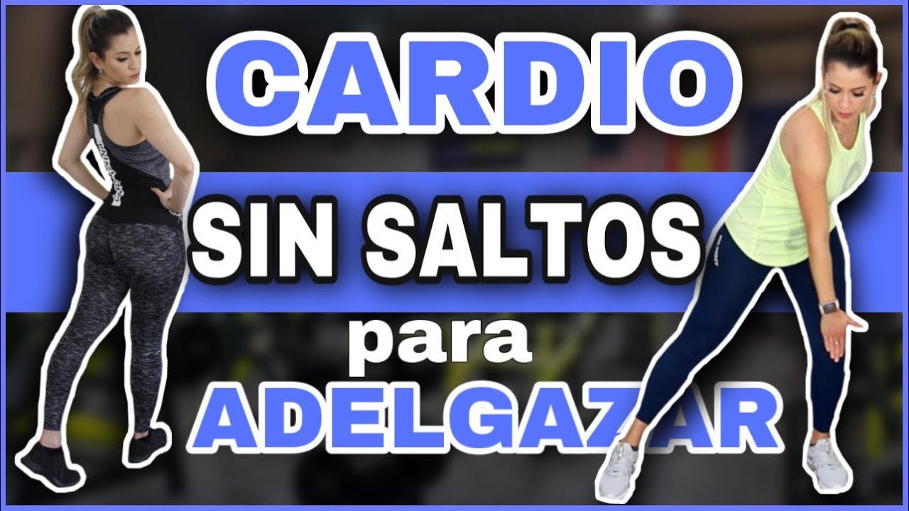 CARDIO SIN SALTOS PARA PERDER PESO RÁPIDO   Cardio de Bajo Impacto   NatyGlossGym