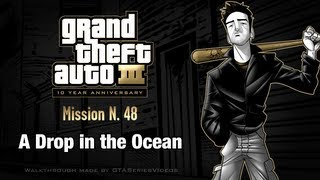 GTA 3 - iPad Walkthrough - Mission #48 - A Drop in the Ocean