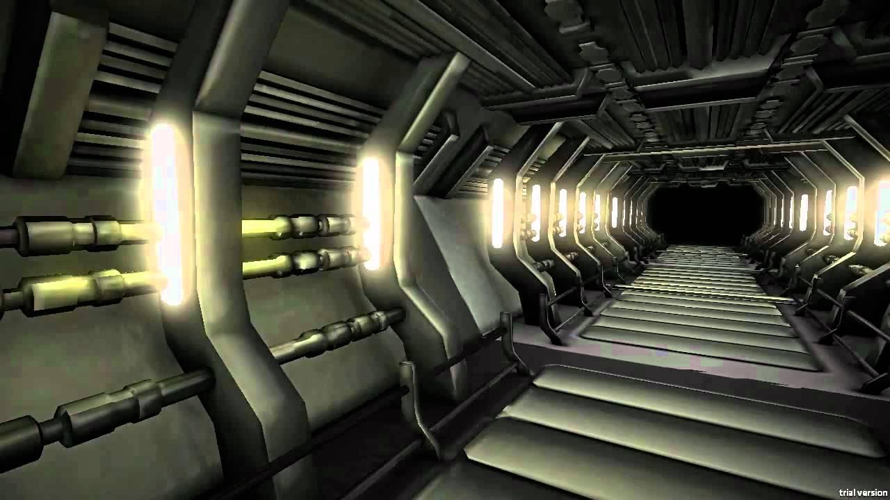 Spaceship Hallway Test