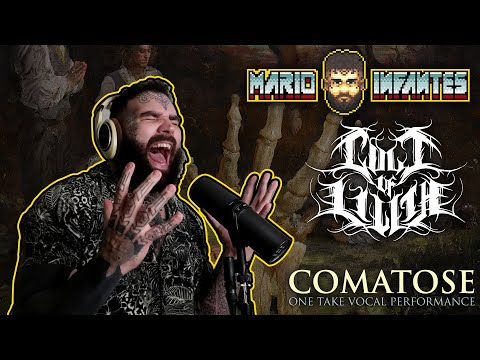 Cult of Lilith - Comatose - Mario Infantes (SINGLE-TAKE VOCAL PERFORMANCE)