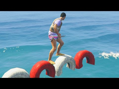 PARKOUR EXTREMO! ME QUIEREN PEGAR!! - Gameplay GTA 5 Online Funny Moments (GTA V PS4)