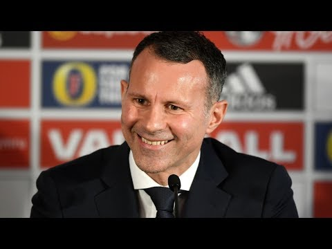 Ryan Giggs First Press Conference as Wales Manager