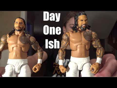 WWE Elite 54 Jimmy and Jey Uso