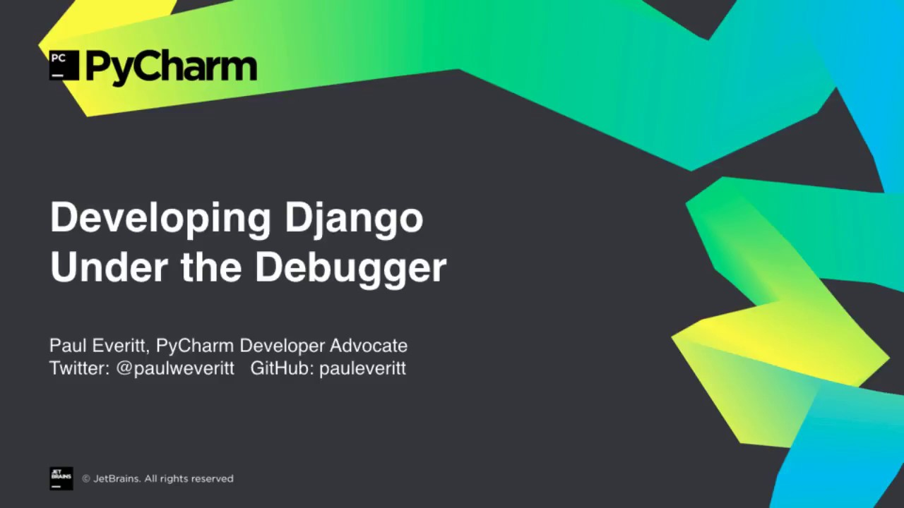Developing Django Under the Debugger