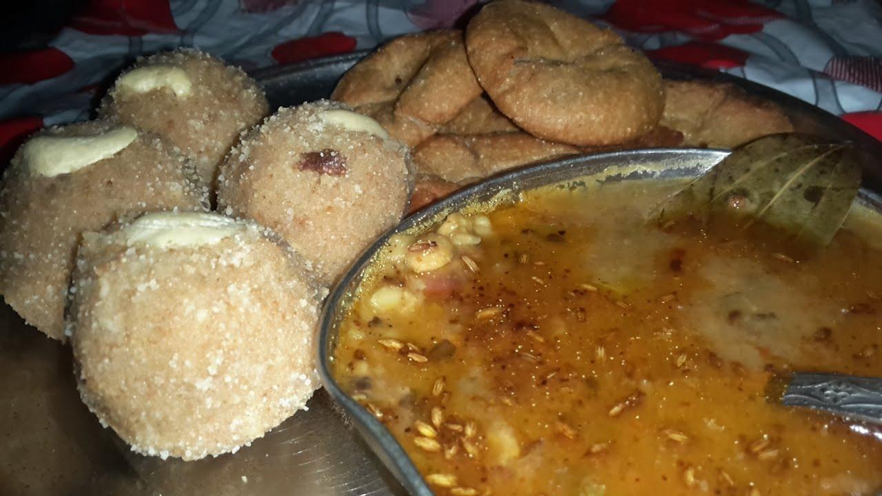 Dal bati recipe in hindi youtube dal bati recipe in hindi forumfinder Choice Image