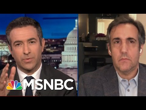 Trump Insider Cohen Exposes Plan To Jail Rivals In 2020 | The Beat With Ari Melber | MSNBC