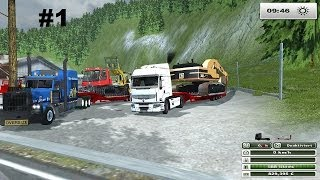 farming simulator 2013 map the alps CONVOIS EXCEPTIONNEL MODS FOREST  EP 1