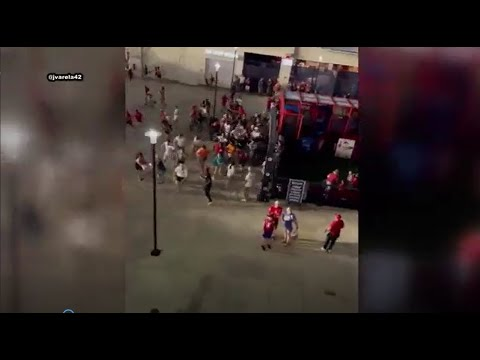 Chaos erupts after shooting outside Nationals Park   FOX 5 DC