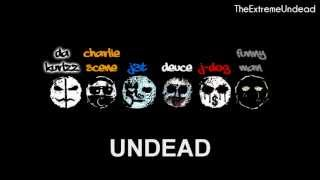Hollywood Undead - Out The Way [Lyrics Video] [OLD VERSION]
