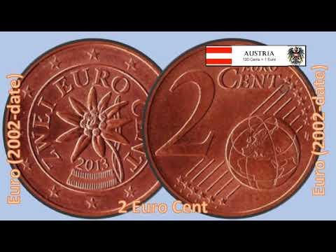 Austria Different Coins - Second Schilling (1945-2001) - Euro (2002-date) - Krone (1919-1925)