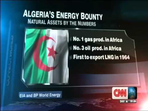 Algeria's Energy Bounty - No 1 Gas Producer (CNN, 17Apr14)