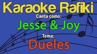 Jesse & Joy - Dueles Karaoke Demo