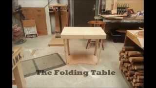 World's Fastest - Folding Table!