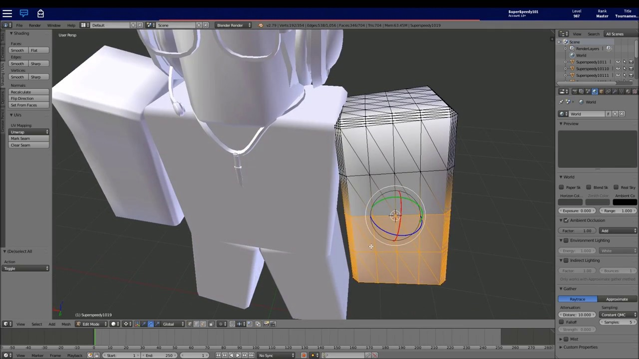 How To Render Your Roblox Avatar On Blender Full Easy Tutorial