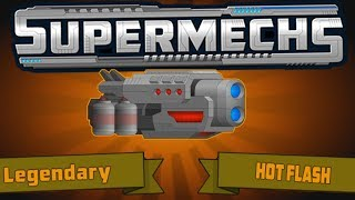 Supermechs | Is the Hot Flash worth it? (Supermechs Update)
