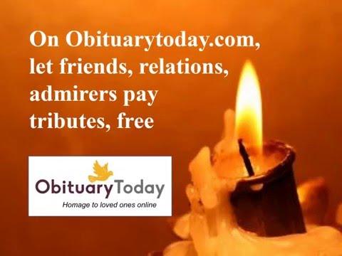 Create Free Obituary Advertisement Online, Remembrance Advertisement – Obituary Today