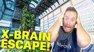 Solving Skinzofrene's X-Brain Escape Game in Fortnite Creative Mode!