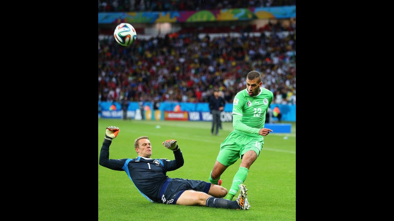 Alg rie vs allemagne 2014 issam chewali coupe du monde - Algerie allemagne coupe du monde 2014 ...