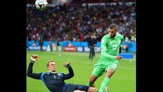 algérie vs allemagne 2014 , issam chewali | Coupe du monde 2014