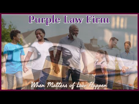In Case of Legal Issues - Purple Law Firm