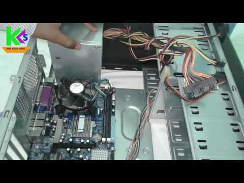 [HINDI] - How to Assemble a computer CPU    step by  step    KIYA KAISE SIKHE
