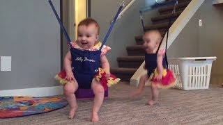 Twin Babies Adorably Perform Irish Dance