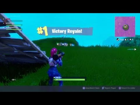 Fortnite Squad win (Epic  Grenade launcher)* Warning Loud shouting at end*