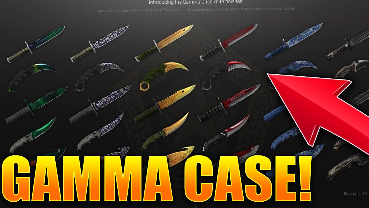 new gamma case csgo cs go gamma doppler freehand lore bright