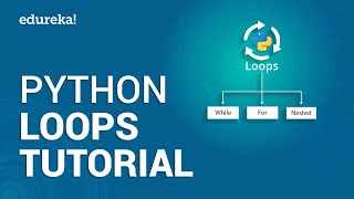 Python Loops Tutorial | Python For Loop | While Loop Python | Python Training | Edureka