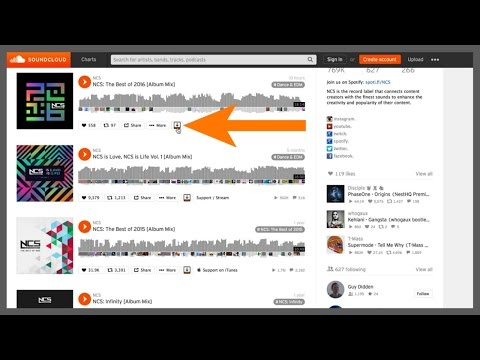 DOWNLOAD FREE SOUNDCLOUD MP3 MUSIC AND PLAYLISTS