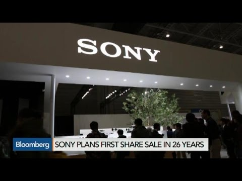 Sony's Planned Share Sale Strains Investors' Faith in CEO