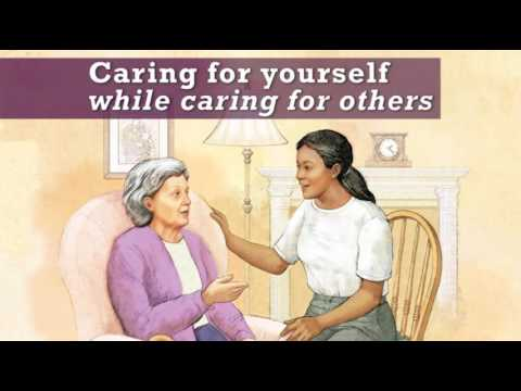 caring for yourself while caring for others promo youtube