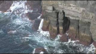 Geology of the Cliffs of Moher
