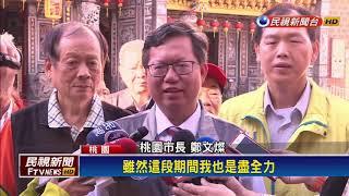 2018九合一-鄭文燦連任桃園市長 逾陳學聖14萬票-民視新聞