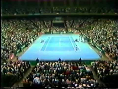 jimmy connors v bjorn borg 1982 exhibition