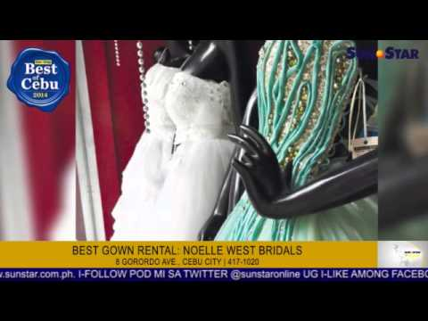 best gown rental: noelle west bridals - YouTube
