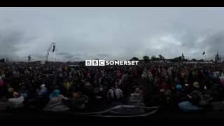 Jeff Lynne's ELO at Glastonbury in 360° video