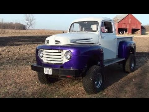 1948 Ford F1 4x4 Lifted Mud Truck