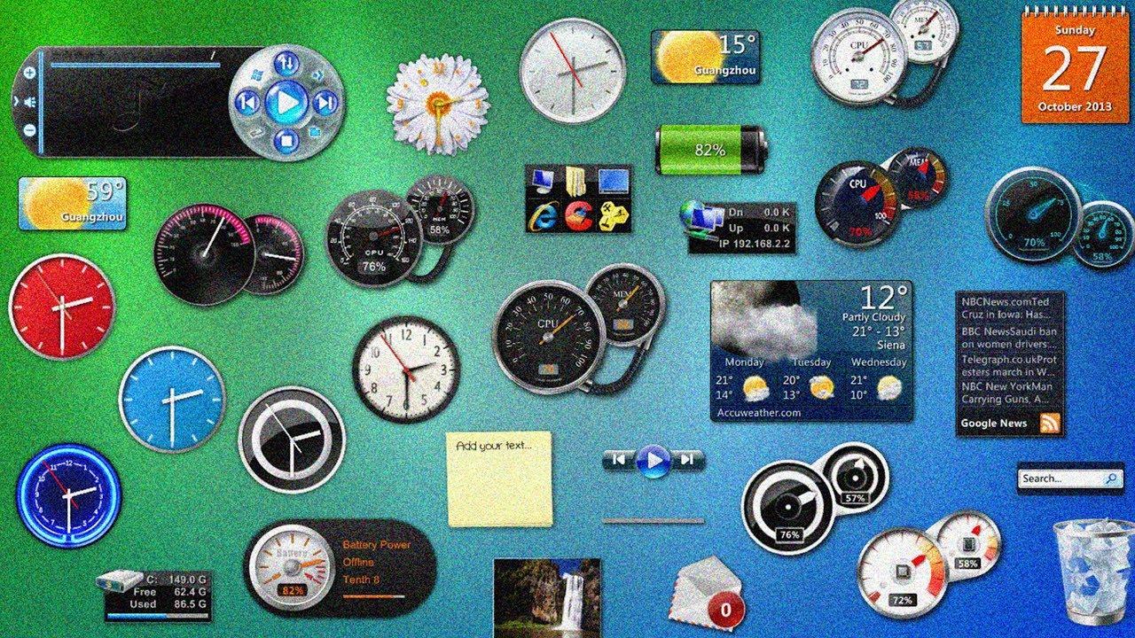 Get Gadgets On Windows 10 Youtube