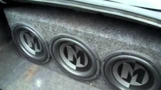 Subwoofer Videos. 3 memphis 12s on Memphis Amp.