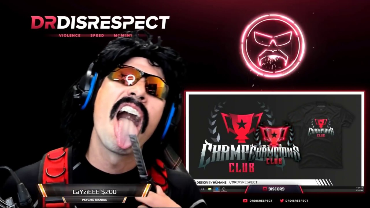 Dr. Disrespect Is Returning To Streaming: What Time And What To ...
