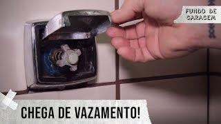 Como arrumar válvula de descarga Hydra vazando! - Fundo de Garagem Ep.03