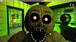SCARED?!? / five nights at freddys 3 roblox edition