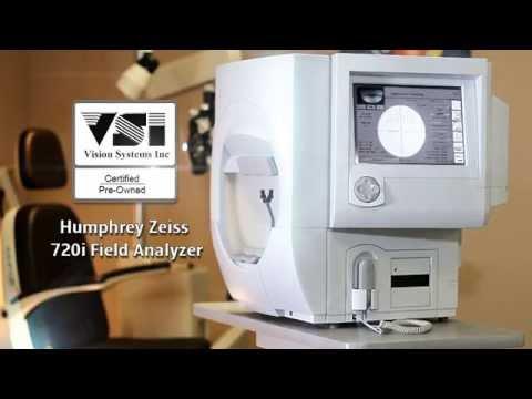 Humphrey 720i Visual Field Analyzer Perimeter