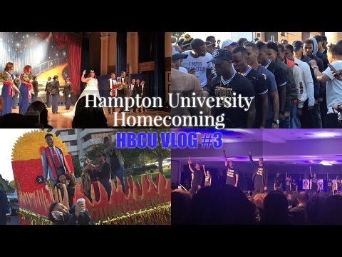HBCU Vlog #3: Hampton University's Homecoming, Anthony Cuts, & I met 2 Milly?!!