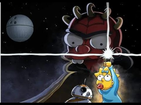 'The-Simpsons-Meets-'Star-Wars-in-First-Look-at-Disney-Plus-Short-'The-Force-Awakens-From-Its-Nap