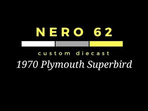 Custom Hot Wheels (1970 Plymouth Superbird)